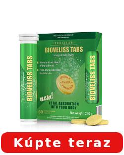 Bioveliss Tabs účinky