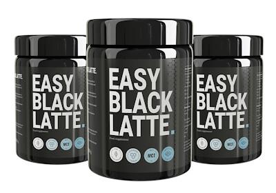 easy black latte účinky